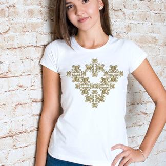 Bošaca srdce - dámske tričko - MOJA print - Kreatívna a reklamná ... 76983a6754